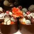 thumbnail of Miniature wedding desserts.