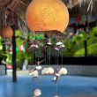 thumbnail of Handcraft lamp with seashells traditional Mexico