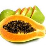 thumbnail of Papaya sliced