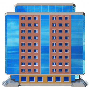 Modern skyscraper stock vector