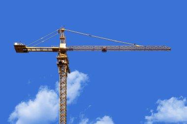 Crane tower stock vector
