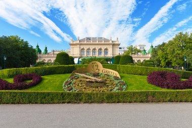 City garden in Vienna, Austria