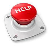 Fotografie Red help button
