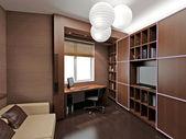 moderní interiér s moderním nábytkem