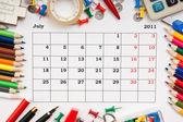 Fényképek naptár július 2011