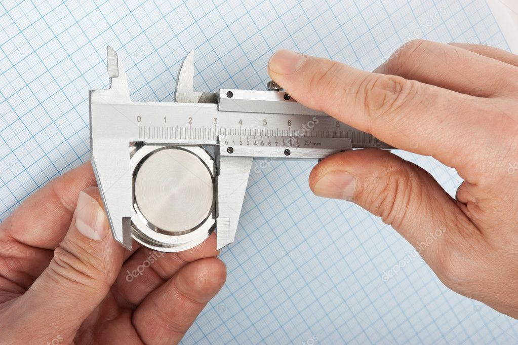 Measurement of the size of the details