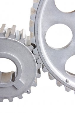 Two gear coupled