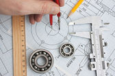 Photo Technical drawing