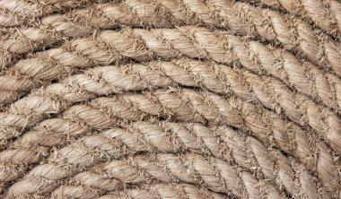 Twisted hemp rope