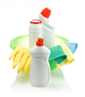 Accesories for cleaning isolated