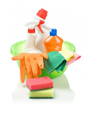 Objects for cleaning in basin