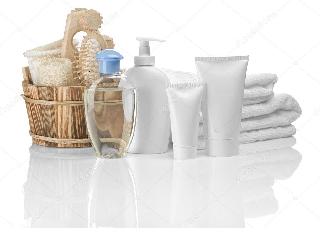 gruppo di oggetti per il bagno — Foto Stock © mihalec #5078673