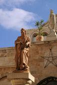 Fotografie Statuen des Heiligen Hieronymus und catherine