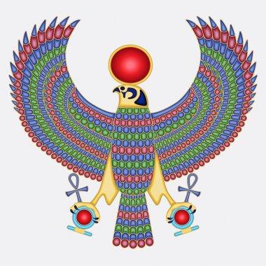 Egyptian falcon pectoral