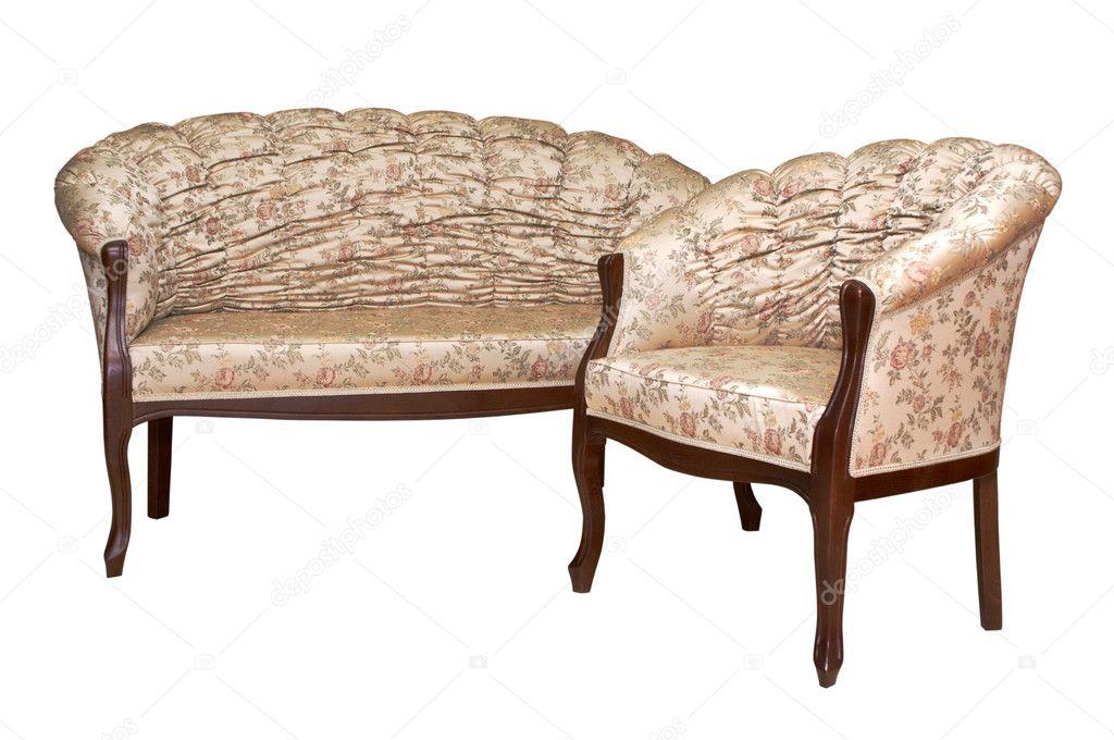 modische Sessel und sofa — Stockfoto © igterex #4242124