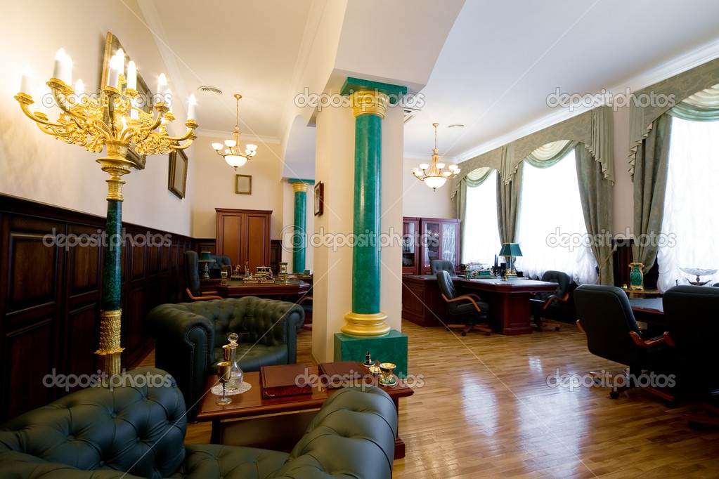 Moderne luxus büro  und Luxus Büro — Stockfoto #4544147