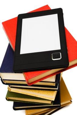 E-book and old books