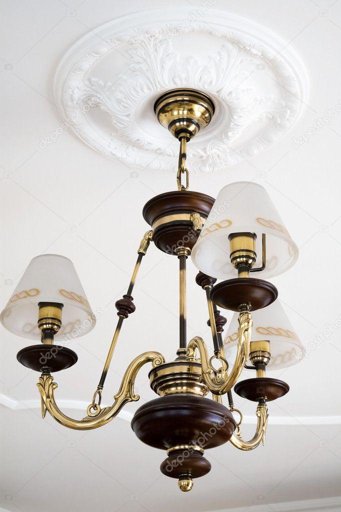 Bronze Leuchter U2014 Stockfoto