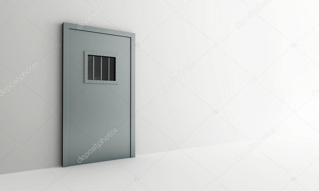 Prison doors close u2014 Stock Photo & Prison doors close u2014 Stock Photo © 3dfoto #4132128