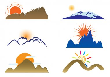 Mount and sun