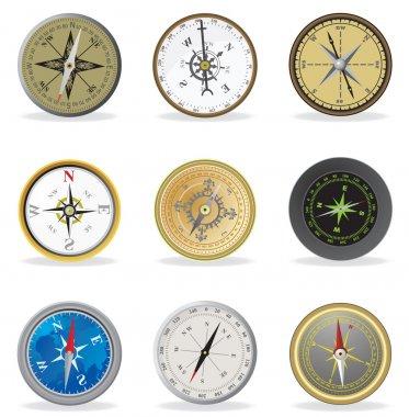 Compass. Set