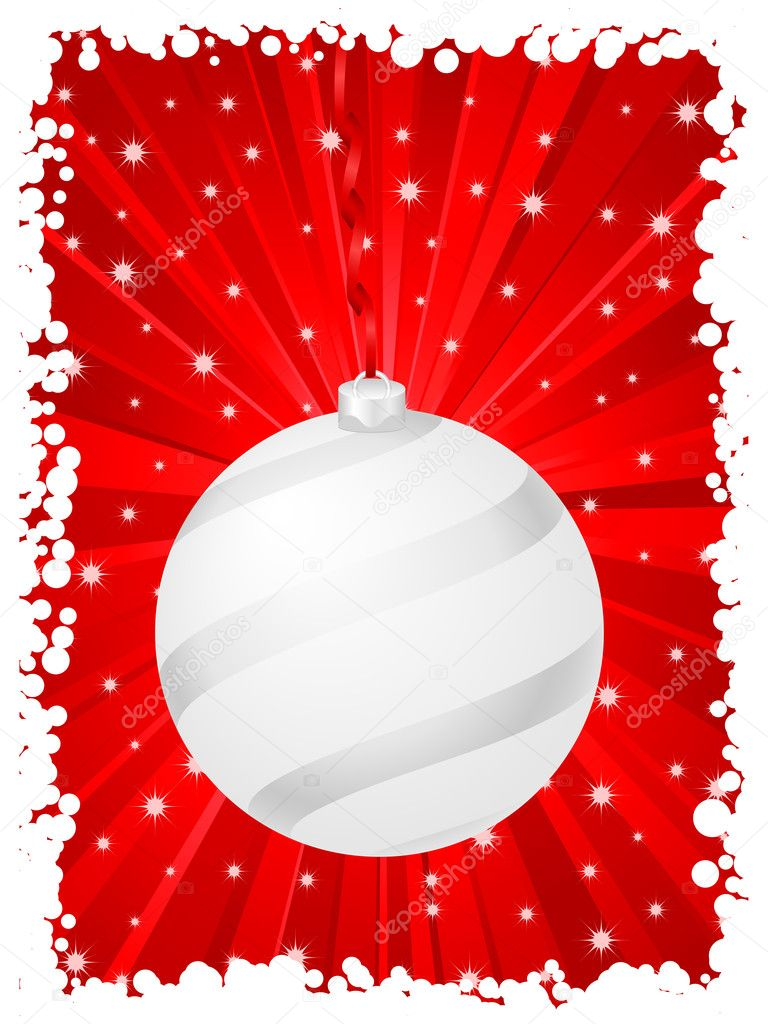 Vertical christmas background red — Stock Vector © julydfg ...