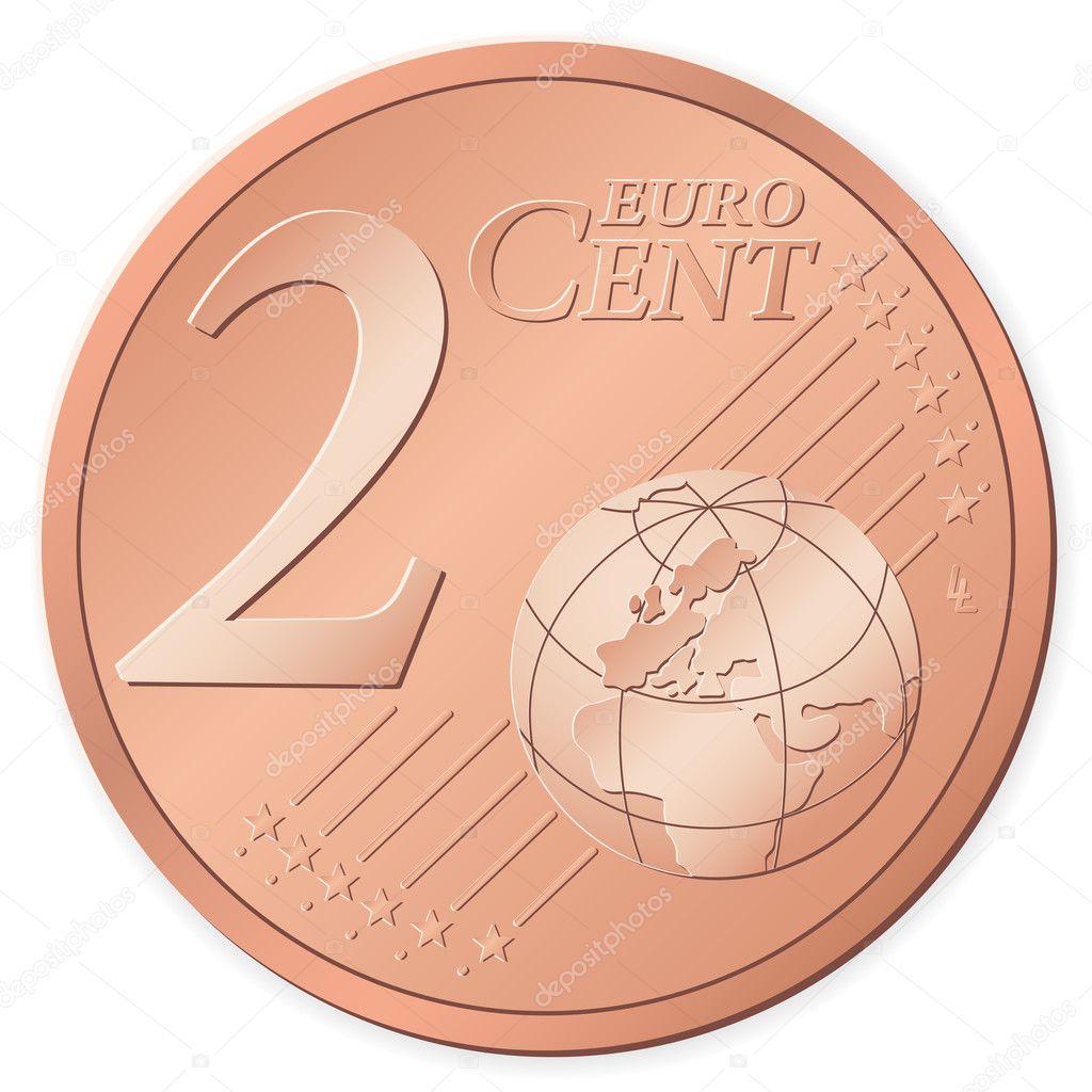 2 euro cent stock vector julydfg 4383765 - Stock piastrelle 2 euro ...