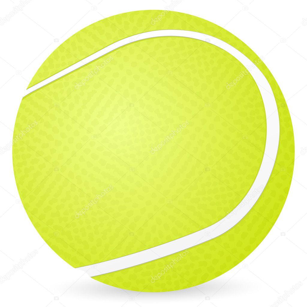 Tenis pelota stock de ilustracion ilustracion libre de stock de - Pelota De Tenis Aislada Sobre Un Fondo Blanco Ilustraci N Vectorial Vector De Julydfg