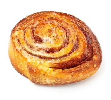 Sweet bun with cinnamon