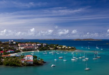 Entering Cruz Bay on St John