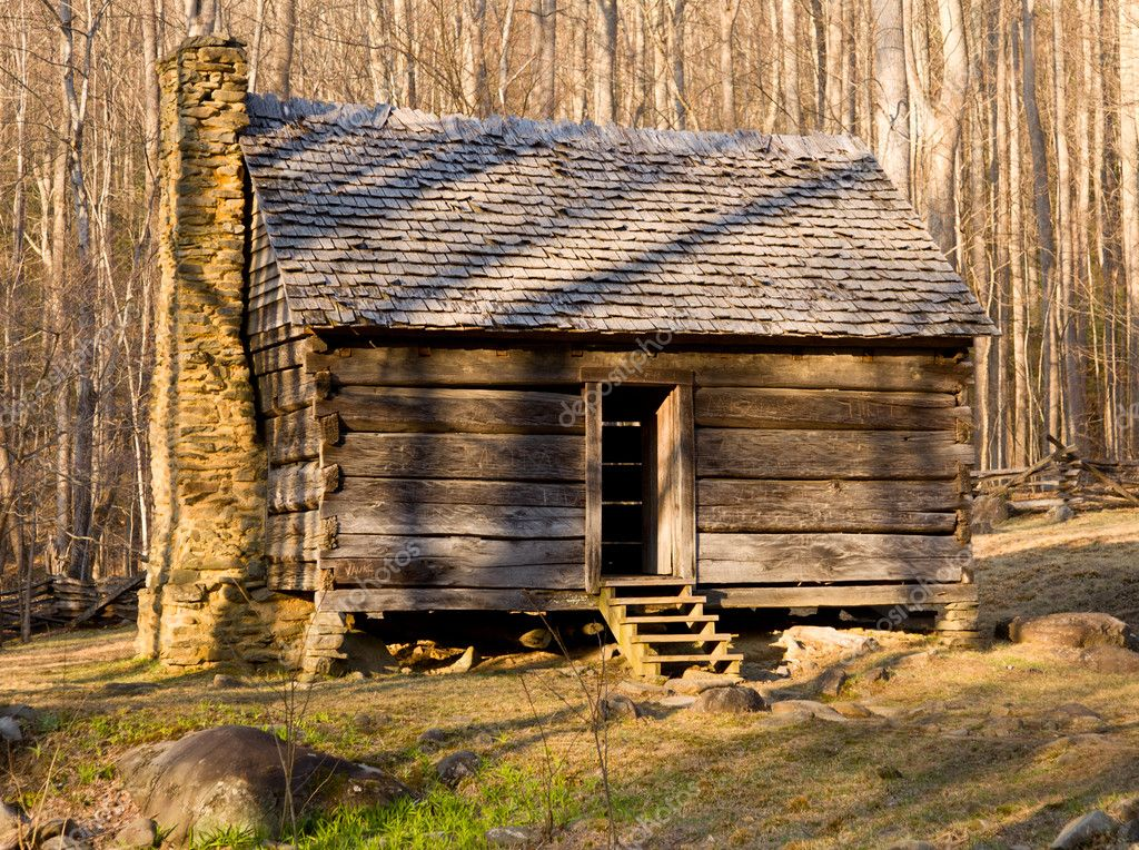 Old Cabin In Smoky Mountains Stock Photo 169 Steveheap