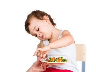 Kid does not want to eat