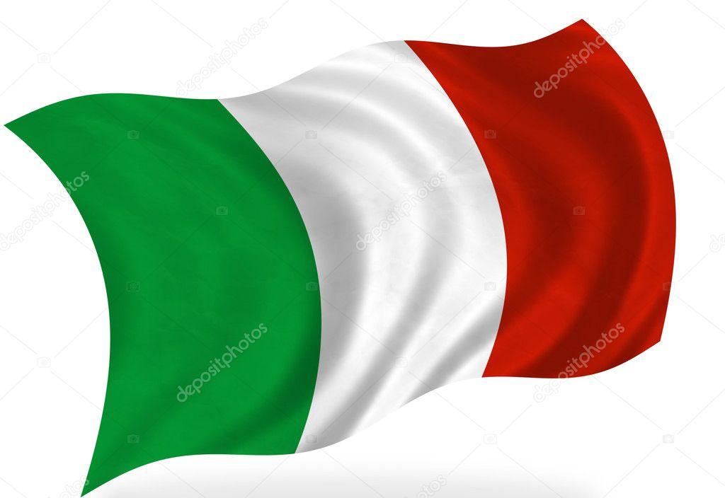 Photos de Drapeau italien, Images de Drapeau italien | Depositphotos®