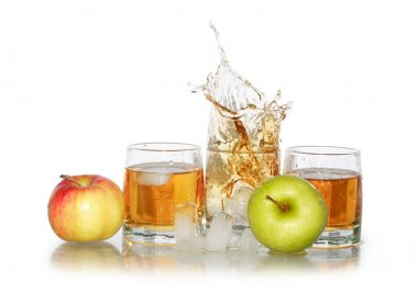 Apple Juice With Ice