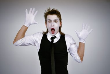 Mime actor