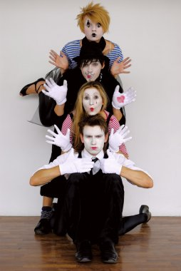 Mime actors