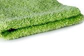 grünes Handtuch