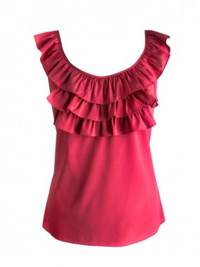 Red women top