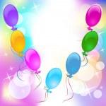 Colorful inflatable balloons background abstract festive backdrop - Festive Background With Balloons Stock Vector 169 Marisha