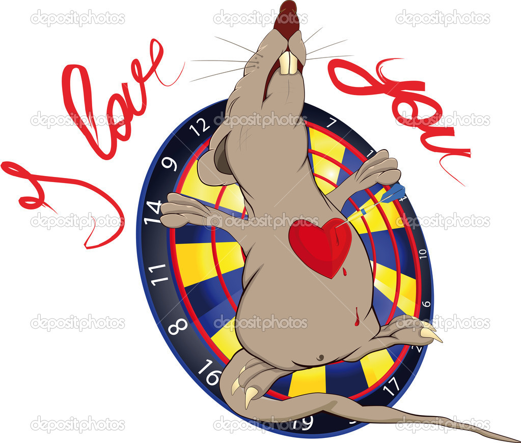 Rat love and a darts