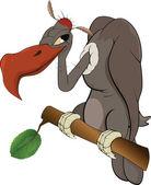 Fotografia condor americano un eagle.cartoon
