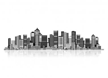 Cityscape background for your design, urban art