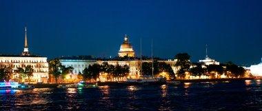 Petersburg at night