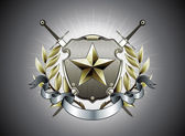 Heraldischer Schild