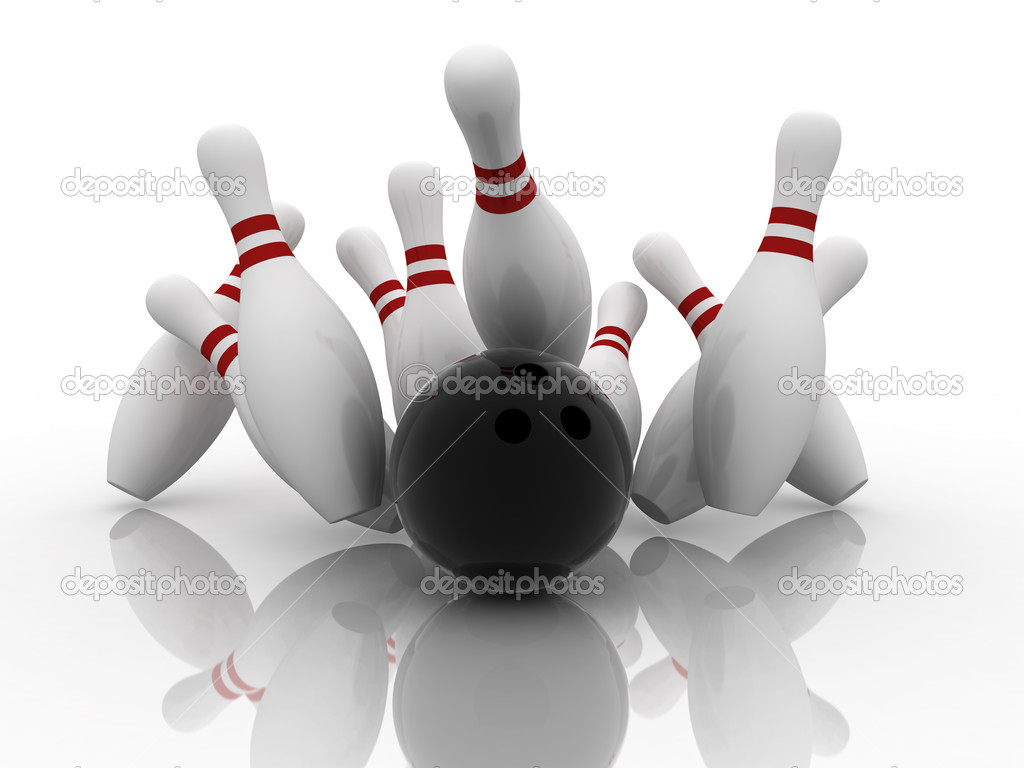 how to get a strike in 5 pin bowling