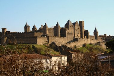Carcassonne,the old city,France