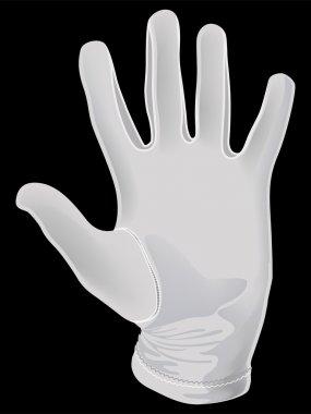 White apm glove