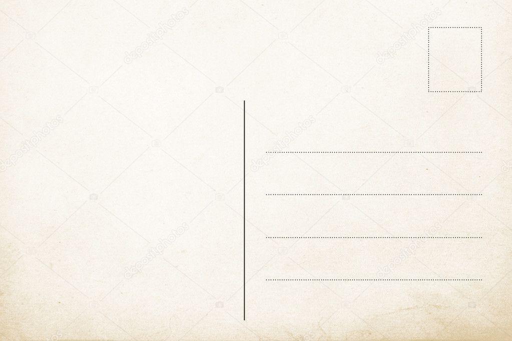 Шаблоны оборотная сторона открытки шаблоны