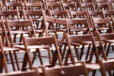 Pattern with chairs