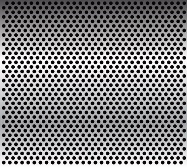 Metal grid background-vector.Metal texture.